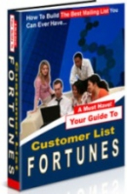 Product picture Get wealthy online with Customer list Fortune!